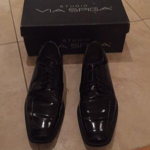 Via spiga men's tuxedo shoes size 9